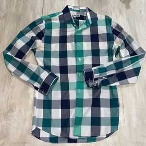 Express Men's Extra Slim Button down shirt